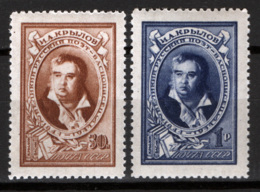 Russia 1944 Unif. 945/46 */MH VF - 1923-1991 URSS