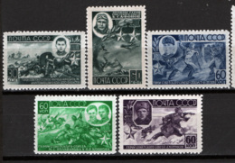 Russia 1944 Unif. 931/35 */MH VF/F - 1923-1991 URSS