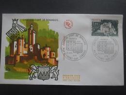 FRANCE FDC Chateau-fort De Bonaguil 10-07-1976 St Flour - FDC