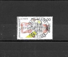 """3148   OBL  Y & T BELLE OBLITÉRATION CENTRÉE    Abolition De L'esclavage  """"150e Anniversaire """"  *FRANCE*   15A/33 - France"""