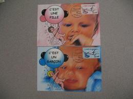 Carte-Maximum 1999  N° 3231 Et 3232 - Cartes-Maximum
