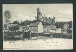 Antoing. L'Escaut Et Le Château. Nels, Série 48, N°57. Voyagée En 1901. - Antoing