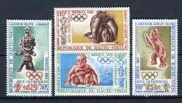Alto Volta 1968. Yvert A 54-57 ** MNH. - Upper Volta (1958-1984)