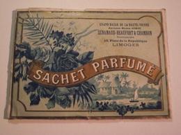 SACHET PARFUME, Vers 1900, Limoges, Grand Bazar De La Hte Vienne - Other
