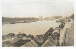 Paris12)   La Seine Au Pont D' Auterlitz  (  Quai Avec Péniche  ) - Arrondissement: 12