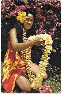 98 - Le Port De Couronnes Fleuries Est Une Charmante Coutume POLYNESIENNE - Ed. Veronese N° 30 - Tahitian Folklore - Polynésie Française