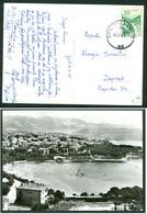 Yugoslavia 1965 Bahnpost Railway Post Split-Zagreb A 32 Postcard Bacvice Letter - Lettres & Documents