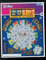 Grattage FDJ - FRANCAISE DES JEUX - 2013 ANNEE DE LA CHANCE 53401 - Billets De Loterie