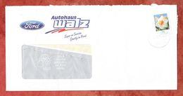 Brief, Ford Walz, EF Narzisse Sk, Entwertet Neuweiler Kr Calw 2009 (61434) - [7] Repubblica Federale