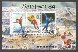 8887-North Korea, DPR, S/sheet Scott 2323 – Topic Sport, Olympics - Hockey (Ice)