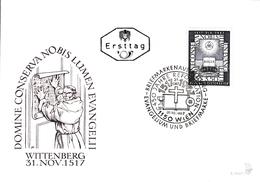 1967   FDC - Ersttag. Mi: 1249 450 Jahre Reformation - FDC