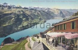 Switzerland - Brienz Rothorn - Bahn - Blick Auf Die Alpen - Trains