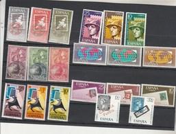 Espagne 7 Séries Journée Mondiale Du Timbre Entre 1961 Et 1968 . ** Neufs Sans Charnière - 1931-Aujourd'hui: II. République - ....Juan Carlos I