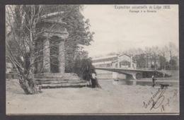 78808/ LIEGE, Expo 1905, Paysage à La Boverie - Luik