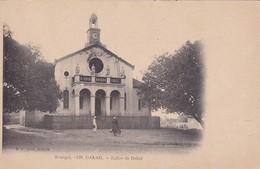 SENEGAL. DAKAR. EGLISE DE DAKAR. MD PHOT. CIRCA 1900s. NON CIRCULEE- BLEUP - Senegal