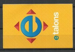 RIGA LATVIA Fahrkarte City Transport Card Ticket - Titres De Transport