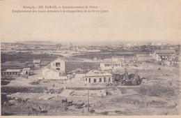 SENEGAL. DAKAR. ASSAINISSEMENT DE DAKAR. EMPLACEMENT DES CASES DETRUITES... MD PHOT. CIRCA 1900s. NON CIRCULEE- BLEUP - Senegal