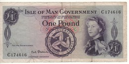 ISLE Of MAN  1 Pound  P25b - Isle Of Man / Channel Island