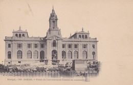 SENEGAL. DAKAR. PALAIS DU GOUVERNEMENT GENERAL EN CONSTRUCTION. MD PHOT. CIRCA 1900s. NON CIRCULEE- BLEUP - Senegal