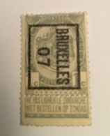 1907 - 1c - Typo Precancels 1906-12 (Coat Of Arms)
