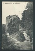 Beaumont. La Tour Salamandre. Animée. Voyagée En 1920 - Beaumont