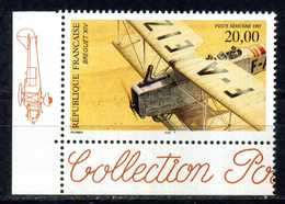 FRANCE PA N° 61a   BIPLAN BREGUET XIV CDF GAUCHE NEUF ** - Poste Aérienne