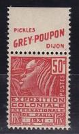 PUBLICITE: FEMME DE FACHI 50C ROUGE GREY-POUPON-pickles H  ACCP 678** - Publicités
