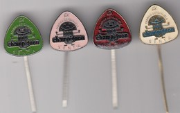 4 Pins Pin Badge Anstecknadel Champignon Mushroom - Food