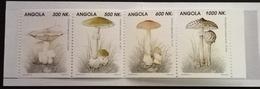 Angola 1993 Mushrooms Booklet - Angola