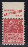 PUBLICITE: FEMME DE FACHI 50C ROUGE GREY-POUPON-cornichons H  ACCP 679** - Publicités