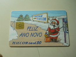 Phonecard * Portugal * Portugal Telecom * 50 * Christmas And New Year - Portugal
