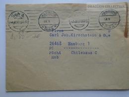 ZA143.25 Germany   Postscheckbrief Von 1936  PSchA Hamburg- Cover - Deutschland