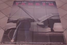 AFFICHE CINEMA ORIGINALE FILM TANDEM ROCHEFORT JUGNOT LECONTE 1987 - Affiches & Posters