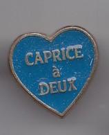 Pin's Caprice à Deux Coeur Réf 4817 - Food