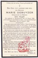 DP Marie DeBuyzer ° Steenvoorde FR Nord 1884 † Ieper BE 1926 X J. Huyghe - Images Religieuses