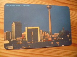Phonecard Germany O 2000 10.94. Telecard '94 Berlin 17.500 Ex. - O-Series : Customers Sets