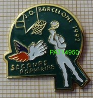JO BARCELONE 92 SECOURS POPULAIRE   BASKET - Olympic Games