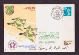 EAGLES PHANTOMS SIGNED FLOW COVER  4 7 1976 - Militaria