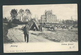 Antoing. Château Brebort. Belle Carte Animée. Nels 18Série 105, N°  Voyagée En 1905. - Antoing