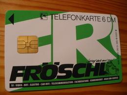 Phonecard Germany O 392 12.92. Fröschl 10.000 Ex. - O-Series : Customers Sets