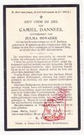 DP Camiel Danneel ° WestVleteren Vleteren 1883 † 1934 X Zulma Hovaere - Images Religieuses