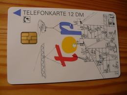 Phonecard Germany O 1327 08.95. Siemens 10.000 Ex. - O-Series : Customers Sets