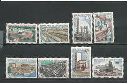 COTE IVOIRE Scott 262-269 Yvert 269-276 (8) ** Cote 13,50 $ 1968 - Côte D'Ivoire (1960-...)