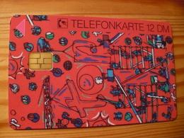 Phonecard Germany O 1750 01.97. Siemens 10.000 Ex. - O-Series : Customers Sets