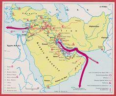 Le Pétrole Dans Le Golfe Persique, L'Arabie Saoudite, La Syrie, La Turquie, L'Iran..., Gisement, Raffinerie... 1970 - Vieux Papiers