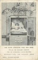 54 - NANCY - EXPOSITION 1909 - VUE D'UNE COUVEUSE AVEC SON BEBE - Nancy