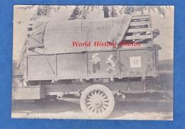 Photo Ancienne D'un Poilu - Beau Camion Militaire TM 633 - Beau Dessin Insigne Lapin - TOP RARE - WW1 Truck Soldat - Guerre, Militaire