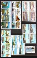 TOURISMUS, BOOTE FRANCISCO KREUZFAHRTEN HAFEN URUGUAY, SKYLINE, ARCHITEKTUR, COMPLETE COLLECTION LOT MNH ** - Schiffe