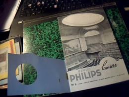 Publicité Revue PHILIPS LUMIERE  SA A Paris Av. Montaigne  No 5 //31  Pages Annee ?? - Publicités