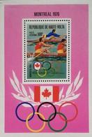 Burkina Faso Summer Olympic Games,Montreal 1976 S/S - Burkina Faso (1984-...)